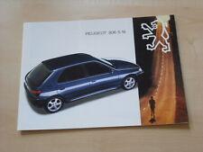 52055) Peugeot 306 S16 Prospekt 12/1993