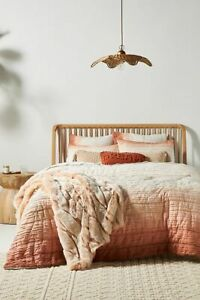 New Anthropologie Marlowe Jersey Thick Quilted Bedspread 200 x 200cm