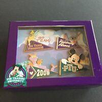 WDW Pin Trading University Pennants Stitch Tinker Figment Mickey LE Disney 64879