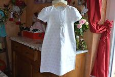 robe dior 8 ans  blanc rose tres clair peux faire chemise de nuit ete