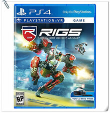 PSVR RIGS: Mechanized Combat League SONY PLAYSTATION Fighting Games SCE