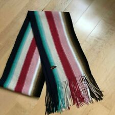 Roots Knit Scarf Multi Color Tassel
