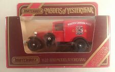 matchbox models of yesteryear Y-22 1930 model A ford van postes canada post