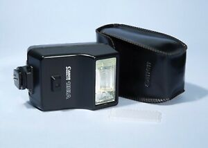 Canon Speedlite 188A + Diffuser & Case * A-1 AE-1 F-1 AT-1 etc.. * Fully Working