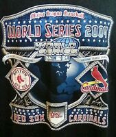 Gildan Men's MLB 2004 World Series Boston Red Sox St.Louis Cardinals Shirt Large