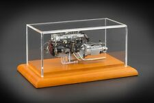 1961 ASTON MARTIN DB4 GT ZAGATO ENGINE WITH DISPLAY SHOWCASE 1/18 BY CMC 133