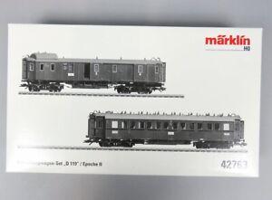 V 82713 Märklin Schnellzugwagen-Set 42763