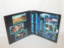 Custom Made Star Wars WIDEVISION Return Of The Jedi Trading Card Album Binder