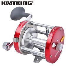 New listing KastKing Rover80L Left-Hand Round Baitcast Reel Conventional Reel Saltwater Reel
