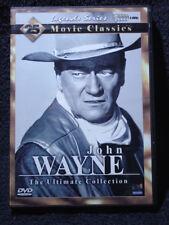 John Wayne The Ultimate Collection (DVD, 2009, 4-Disc Set) Like New!