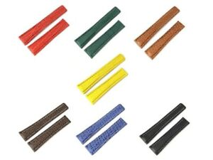 GENUINE SHARK SKIN WATCH STRAP FOR BREITLING DEPLOYMENT CLASP 20/18 MM, 22/18 MM