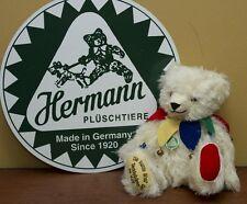 """Hermann Mohair Bear, """"Die Bunte Welt Der"""" 12"""" Fully Jointed"""