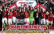 CHARLTON ATHLETIC FOOTBALL TEAM PHOTO>2011-12 SEASON