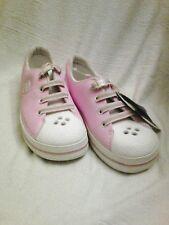 Crocband sneak kids. Bubblegum/White  Size J3.  Tennis.   New. .🏭🏭🏭