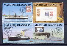 s1931a) MARSHALL ISL. 1989 MNH** Postal history 4v