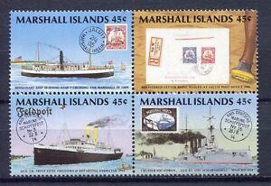 S1931a) Marshall Isl. 1989 MNH Postal History 4v