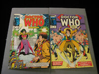 Doctor Who #5 and #6 (Marvel, 1985)