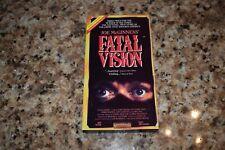 Joe McGinness' Fatal Vision NBC Mini-Series VHS