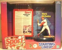 Mark McGwire St. Louis Cardinals Sport Stars Starting Lineup Figure NIB NIP 1999