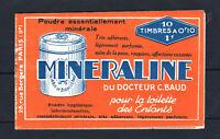 "FRANCE CARNET 188 - C1 "" SEMEUSE 10c MINERALINE 10 TIMBRES "" NEUF xx TTB R499"