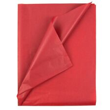 Tissue Paper - Solid Red - 100 Sheets