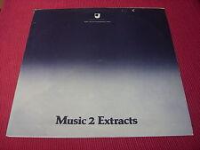 Open University/Varie: estratti di musica 1 e 2 1978 DOPPIO LP