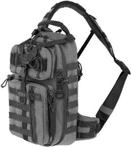 """Maxpedition Sitka Gearslinger Wolf Gray 0431W Measures 10 1/2"""" x 7"""" x 18"""". 1000-"""