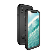 For iPhone XS Max  Underwater Waterproof Case Cover + Kickstand Stand holder