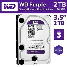 WD Purple 2TB Surveillance Hard Disk 5400 RPM Class SATA 6 Gb 64MB 3.5 Inch DVR