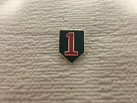 "1ST INFANTRY DIVISION ""BIG RED ONE"" HAT/LAPEL PIN"