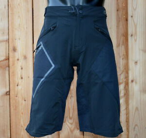 Or ` Neal all Mountain Mud Shorts all-Weather MTB Shorts Medium Length Black