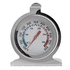 Edelstahl 300°C Grad Ofen Besondere Grill Backofen Küchen Thermometer FS