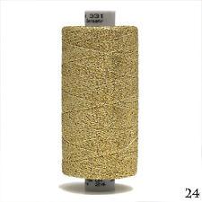 GUTERMANN Wrap Yarn 700M Metallic Thread Gold 70% POLYAMIDE 30% POLYESTER