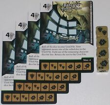 4 X BATCAVE BATMAN'S LAIR 77 World's Finest DC Dice Masters
