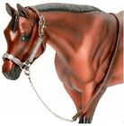 Breyer Western Show Leather Halter w/ Lead Traditional Series Horse Model #2490