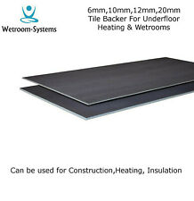 Tile Backer Board 6mm,10mm,12mm,20mm Insulation Board for underfloor heating