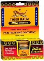 Tiger Balm Ultra Strength 0.63 oz (Pack of 4)