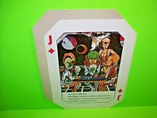Williams ALIEN POKER Original 1980 Flipper Game Pinball Machine Promo Sale Flyer