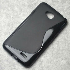 for LG Optimus L70 L65 D320N D325 Black Skidproof matte Gel skin case Cover