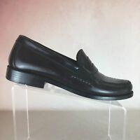 BOSTONIAN B54 Burgundy LAKEWOOD Leather Penny Loafers Dress Shoes Men's Sz 10M