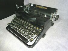 NICE VTG REMINGTON RAND MODEL 1 NOISY NOISELESS TYPEWRITER & CASE #P66463 NO TAB