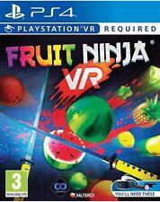 Fruit Ninja PS4 VR Game PlayStation PSVR *** BRAND NEW & SEALED**