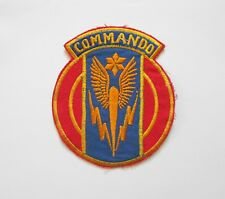 Patch_  US Air Force 6th FIGHTER Squadron COMMANDO Patch USAF