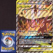 Pokemon XXL / Jumbo / A5 Karte - Espeon & Deoxys GX Full Art | Englisch NM