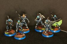 GMD Painted level 4 Corvus Belli Infinity Panoceania Support Set 6 Piece (25mm)