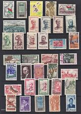 France Colonies Stamps Pre & Post Fine Used Selection (35v).
