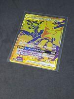 Pikachu Zekrom Gx Tag Team All Stars Gold Ultra rare 221/173 Pokemon Near Mint