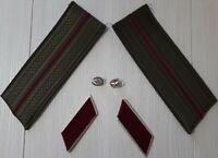 Soviet Union. Recruitment Set officer USSR Army. Shoulder straps Buttonholes