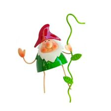 Gnome Garden Pot Hanger Decoration Metal Animals Outdoor Indoor Plant Accessory