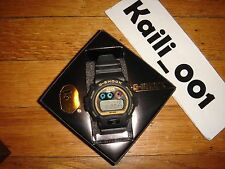 BAPE x Casio G-Shock DW-6900 WATCH BLACK GOLD Limited Rare USED WORN 2008 B